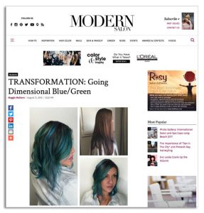 Educe Salon Featured in Modern Salon