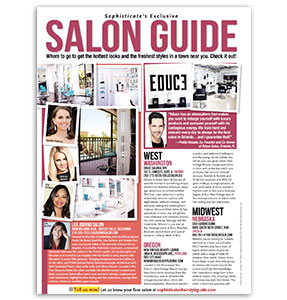 Educe Salon Featured in Salon Guide Press