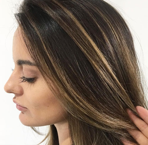 best face frame highlights hair-stylists in Orlando