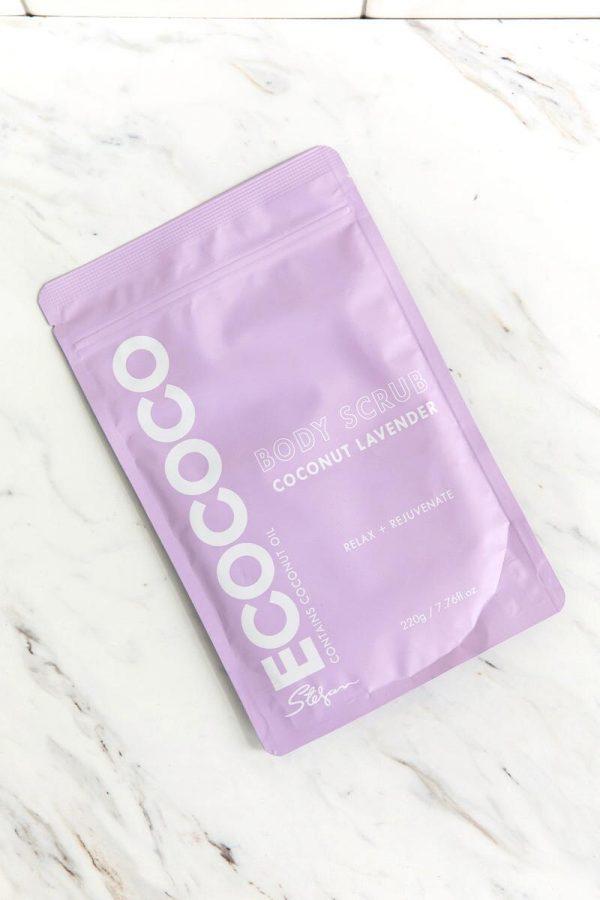 Coconut Lavender Body Scrub Ecococo
