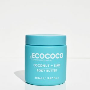 Coconut & Lime Body Moisturising Butter | Ecococo