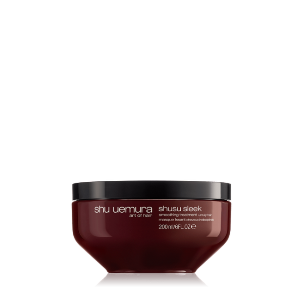 shusu sleek hair mask Anti-frizz, paraben-free hair mask Shu Uemura