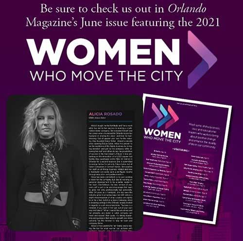 ALICIA ROSADO - WOMEN WHO MOVE THE CITY
